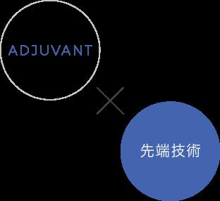 ADJUVANT × 先端技術